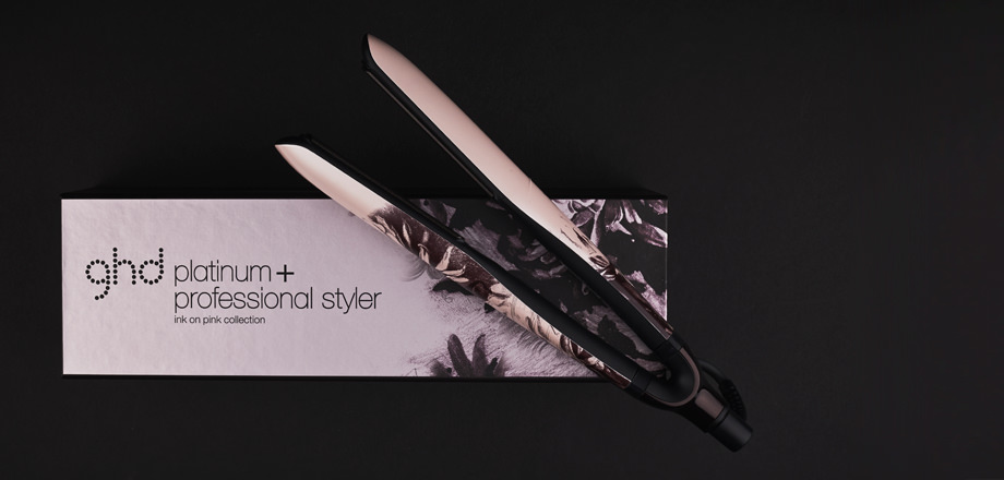 GHD STYLER PLATINUM + INK ON PINK